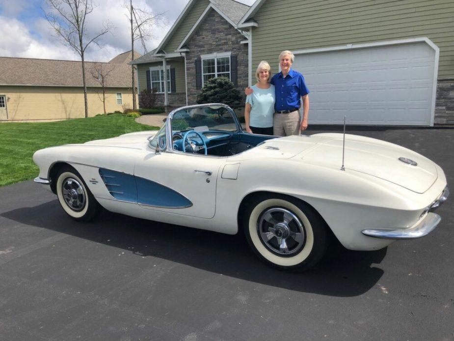 The Hoy's 1961 Chevrolet Corvette
