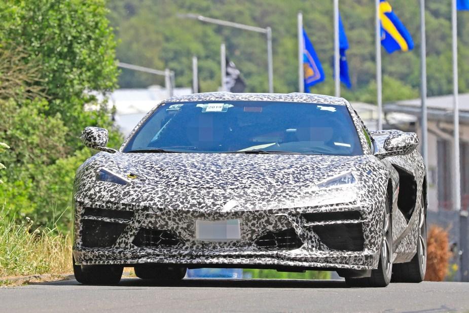 Latest C8 Corvette Spy Shots Show New Details Ahead Of July 18