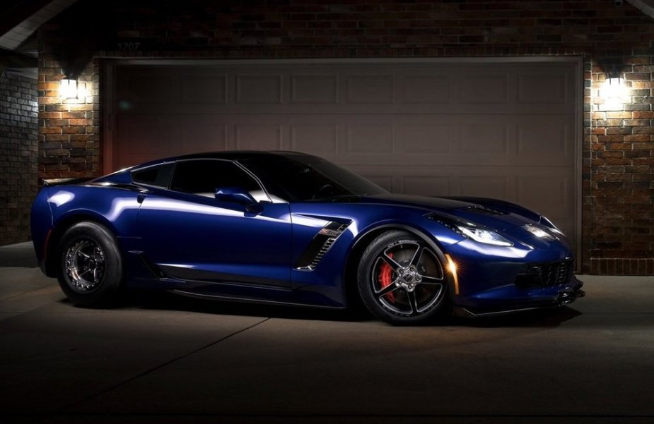 C7 Corvette Z06 is a Wicked Street and Strip Machine Looking