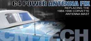 19841996 Corvette Antenna Mast Repair | Corvette Magazine