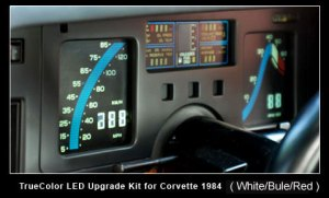 C4 Corvette 19841989 Instrument Cluster Upgrade