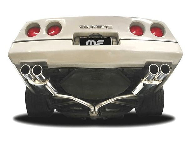 exhaust system magnaflow stainless steel cat back 92 96