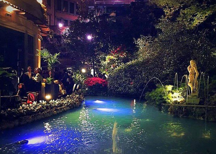 Sheraton Garden Summer Party In Hotel
