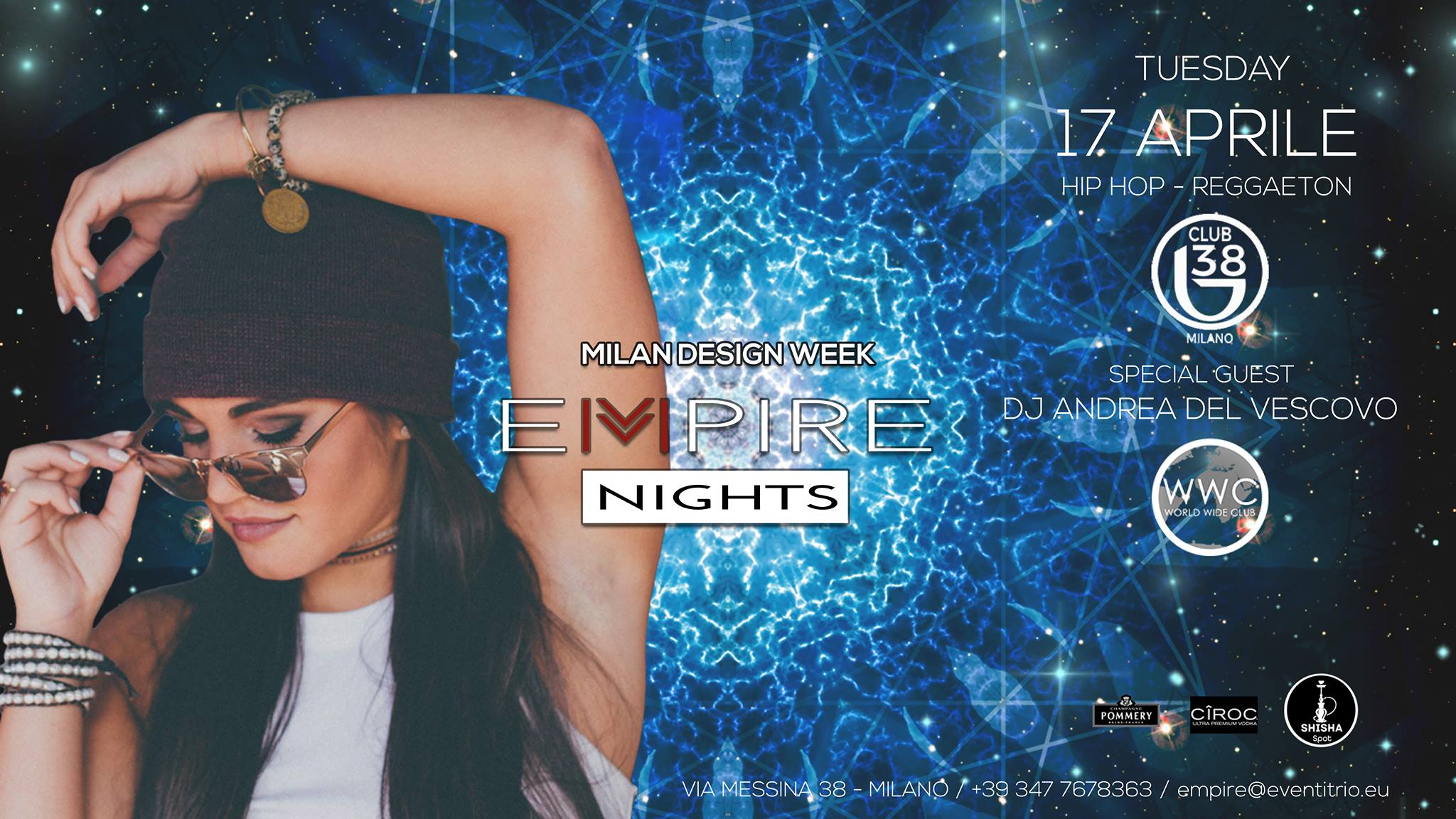 Invitami / Fuorisalone2018 – Empire Nights InDesign