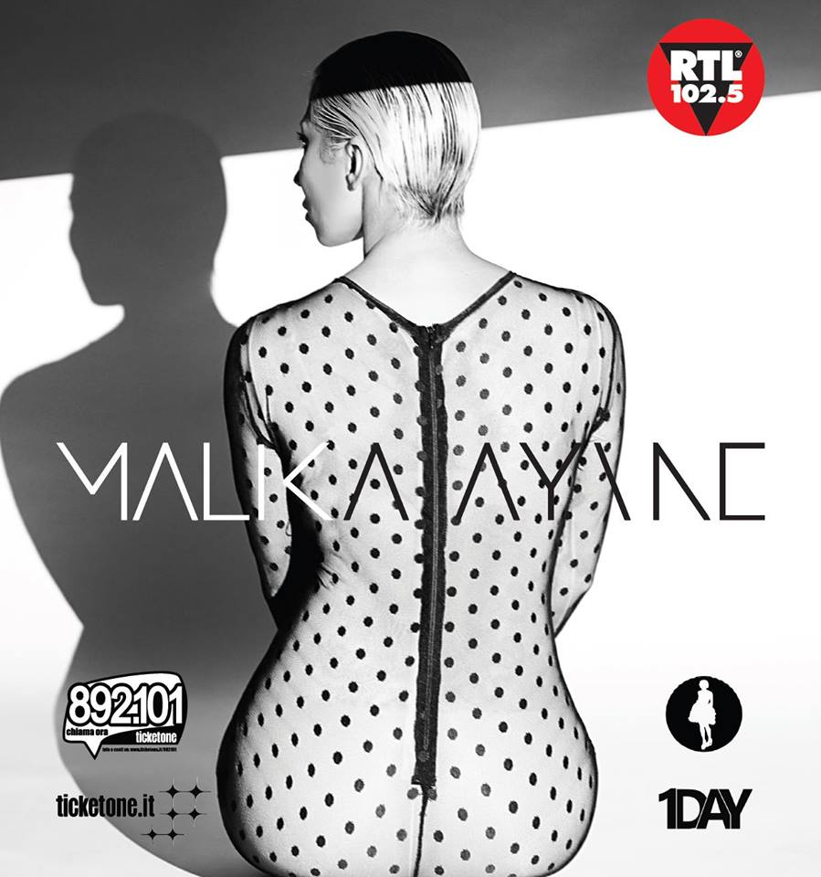 Malika Ayane // live a Milano – Teatro degli Arcimboldi