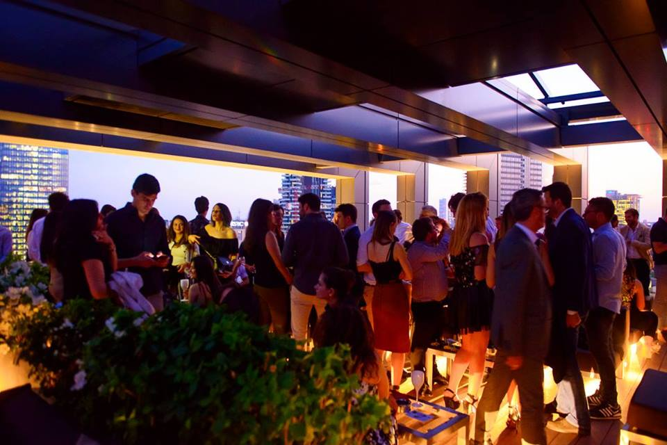 Rooftop Cocktail Party 13TH FLOOR Hotel LaGare Milano
