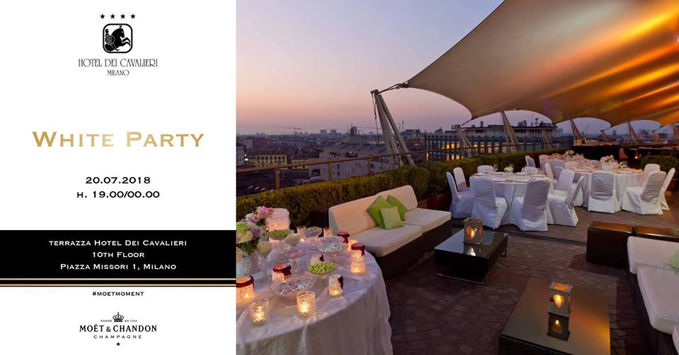 WHITE PARTY In Terrazza Powered By Moët&Chandon Champagne