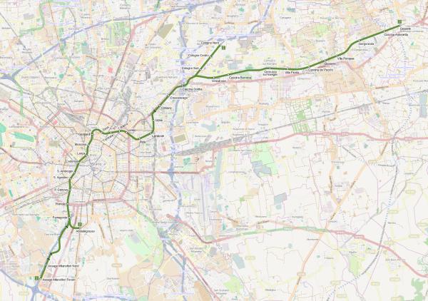 Milano Metro M2