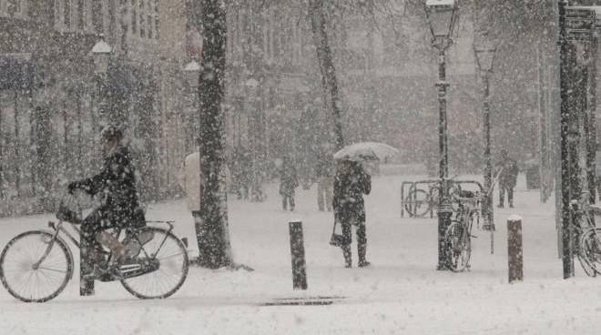 Allerta Neve su Milano a partire da Mercoledi 30 Gennaio