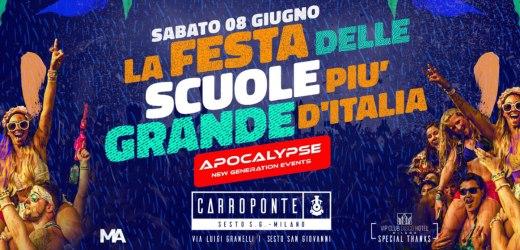 La festa delle scuole più grande d'italia
