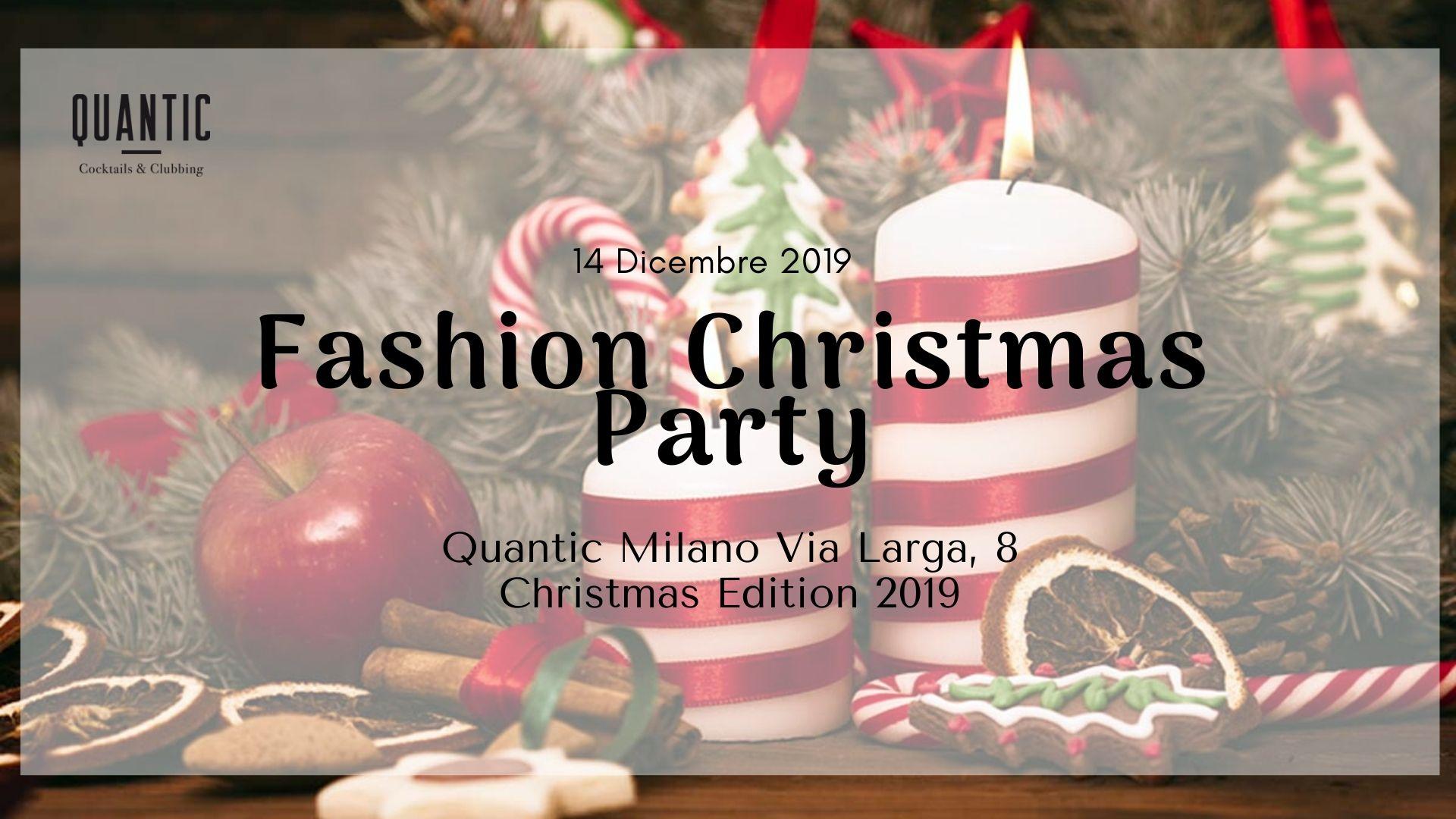 Cosa fare a Milano – Fashion Christmas Party