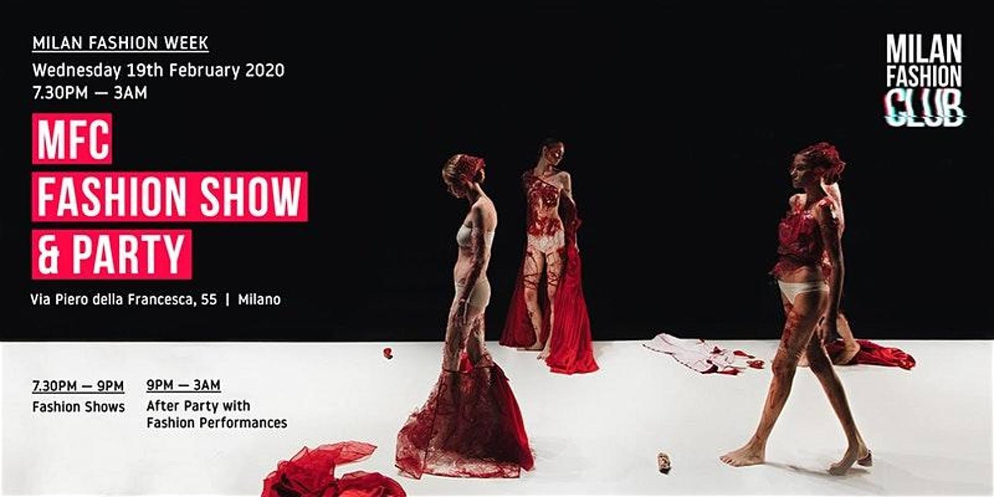 MFC FASHION SHOW PARTY | Milan Fashion Week