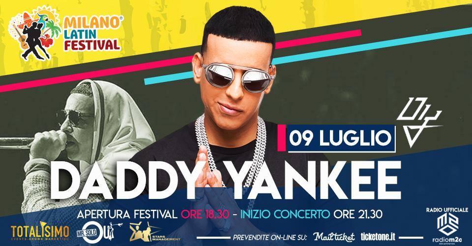 Annullato - Daddy Yankee in concerto a Milano - Milano Latin Festival 2020