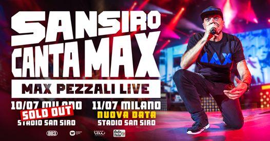 Max Pezzali in concerto a Milano