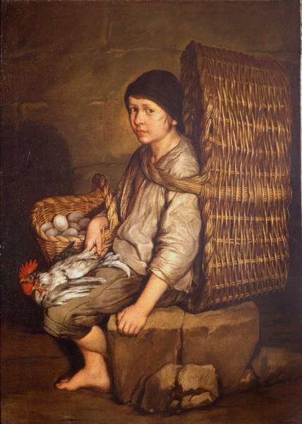 pitocchetto-portarolo-seduto-con-cesta-a-tracolla-uova-e-pollame