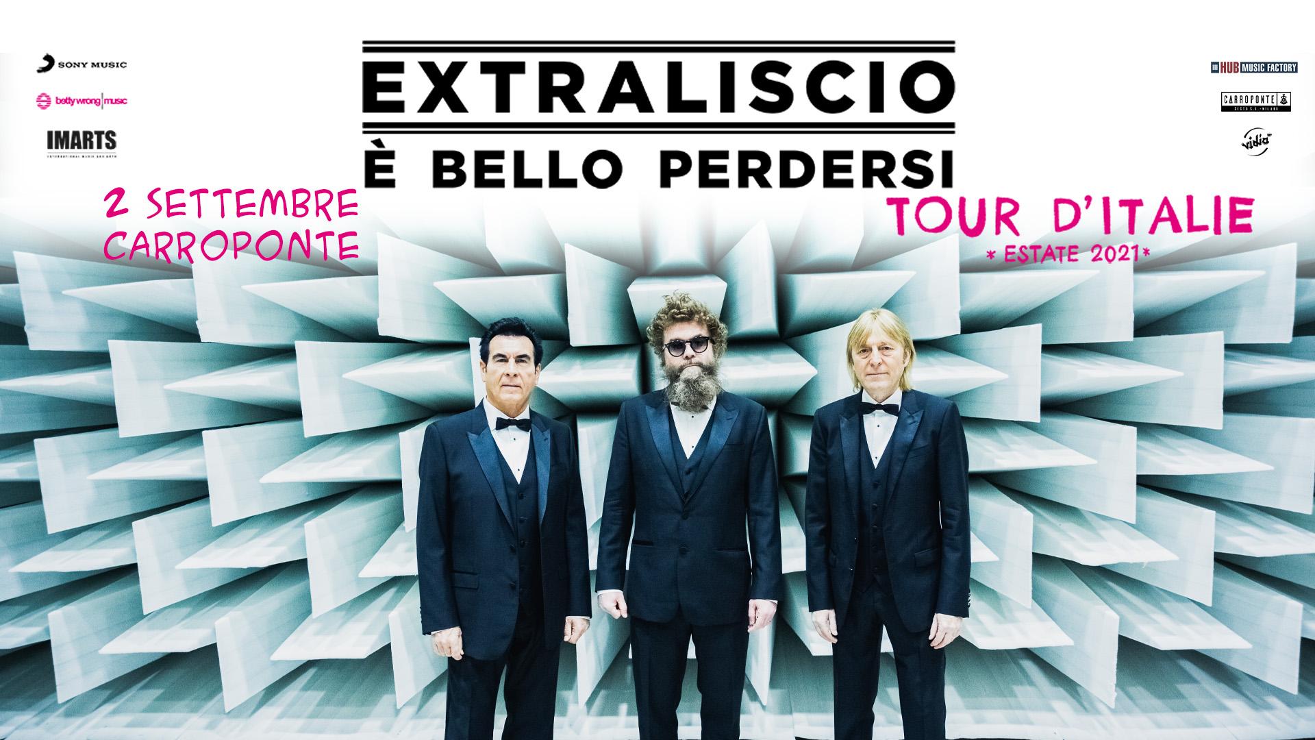 Extraliscio in concerto Carroponte 2021 - Giovedi 2 Settembre 2021