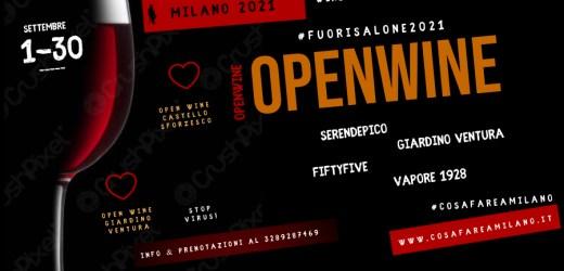 OPEN WINE del momento a Milano