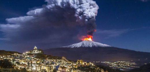Etna il vulcano più alto d'europa