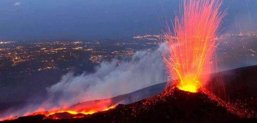 Etna, sua Maestà re di Sicilia, adesso fa paura