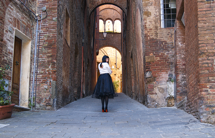 The Alleys In Siena - Cosamimettooggi