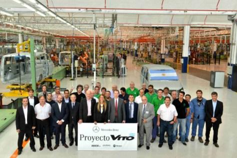Mercedes-Benz Vito planta argentina