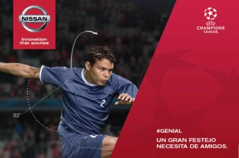 Nissan invita a los fanáticos a la final de la Champions League