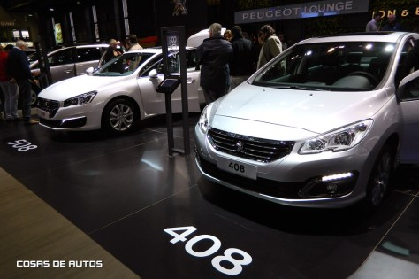 Stand de Peugeot en el Salón de Buenos Aires