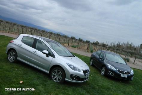 Nuevos Peugeot 308 y 408