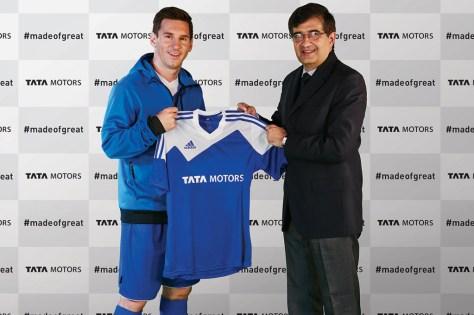 Lionel Messi fue nombrado embajador global de Tata Motors