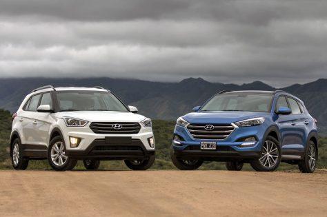 Hyundai Creta y Tucson