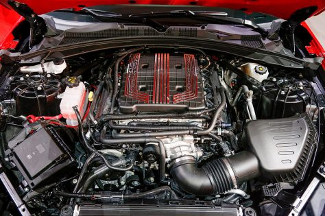Motor V8 del Nuevo Camaro ZL1 2017