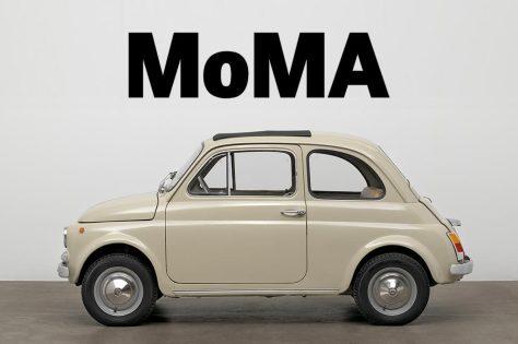 Fiat 500 en el MoMA