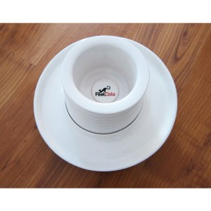 Comedero y bebedero de diseño de FeelCats