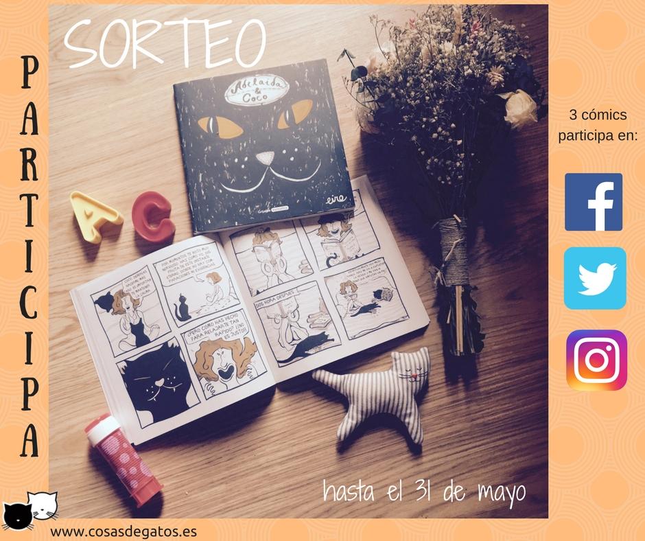 SORTEO GATOS adelaida & coco