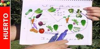 Cómo hacer un calendario de siembra