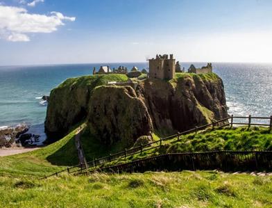 il-castello-Dunnottar-in-scozia