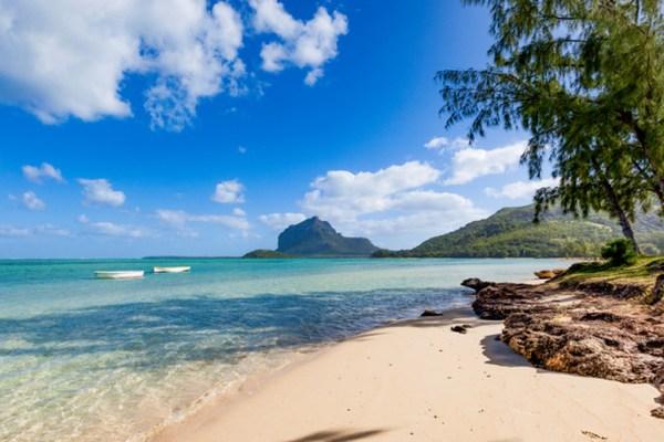 In vacanza sull'isola dell'Oceano Indiano