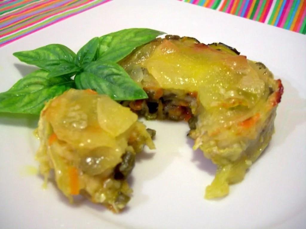 Tortini con julienne di verdure cosa ti preparo for Verdure alla julienne