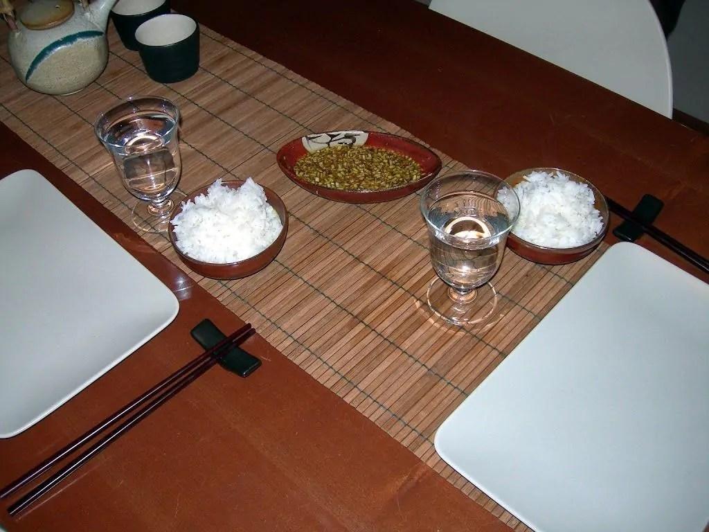 riso bianco giapponese gohan