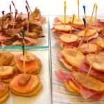 finger food con patate e carciofi