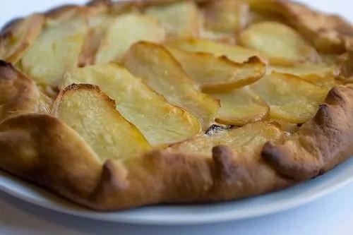 Torta salata con Patate Arrosto