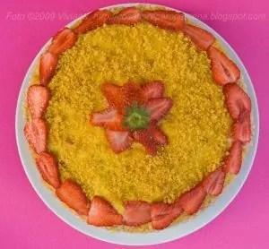 torta paradisiaca alle fragole