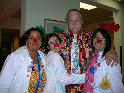 Viviana Chiummetta e Patch adams