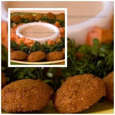 presentazione dei falafel