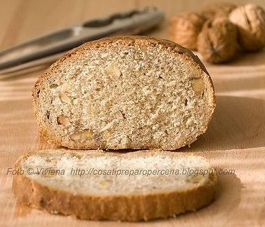 Il pane con lievito madre e noci e il mio istinto lievitomaterno…