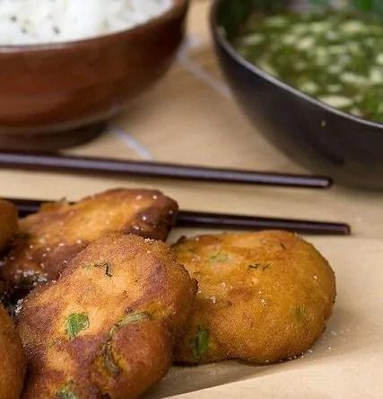 Polpette o frittelle di pesce thai