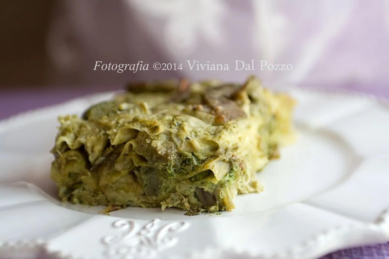 Il Ritorno con le Lasagne Vegetariane Primaverili