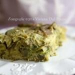 lasagne vegetariane con pesto e ricotta
