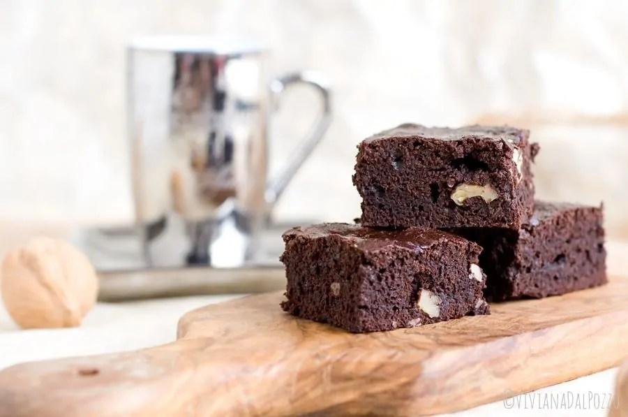 brownies al caffè
