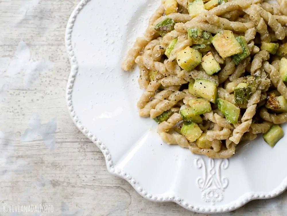 carbonara di Zucchine Perciasacchi